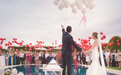Hochzeitsgäste und die freie Trauung
