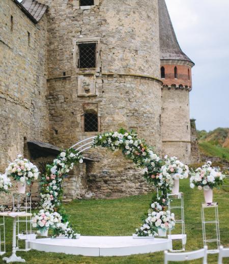 Romantische Hochzeitslocation für freie Trauung