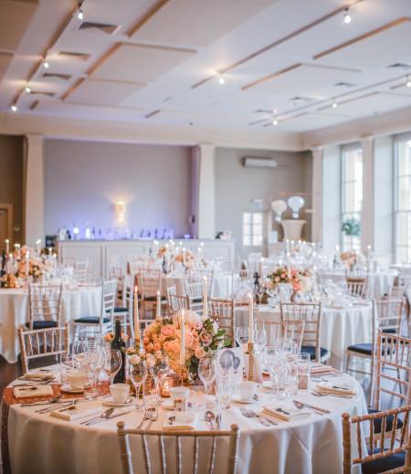Hochzeitslocation Feier indoor